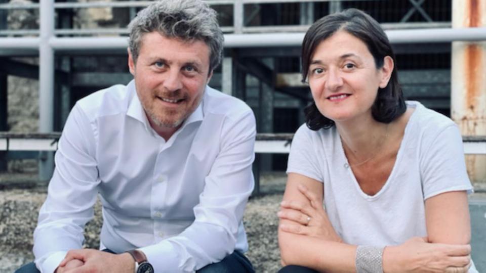 Stéphane Chéry (SNCF) et Agathe Bousquet (Publicis Conseil)